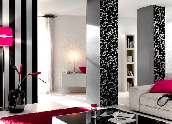 Duvar Kağıdı Desen Ve Renk Seçme Fikirleri 9