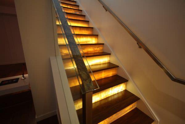 Modern Merdiven Aydınlatma Modelleri 3