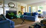 Renkli Modern Oturma Odası Dekorasyon Fikirleri