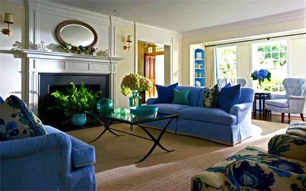 Renkli Modern Oturma Odası Dekorasyon Fikirleri 3