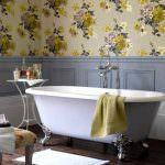 duvar kağıt modelleri - modern desenli banyo duvar kagit 150x150 - Banyonlara Özel Yeni Tasarım Duvar Kağıt Modelleri