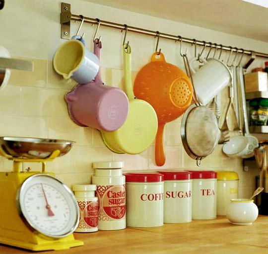 mutfak tava askılık