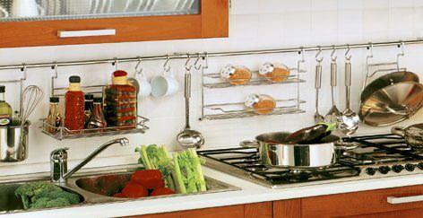 mutfak duvar baharat askılığı