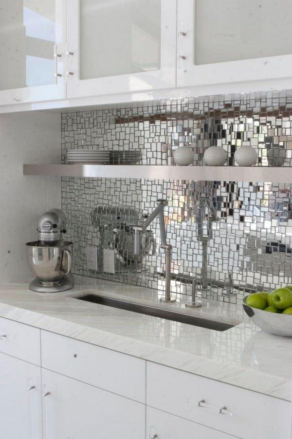 mutfak duvar ayna süslemeleri