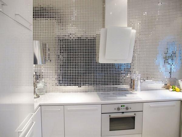 mutfak lavobo arkası mozaik ayna