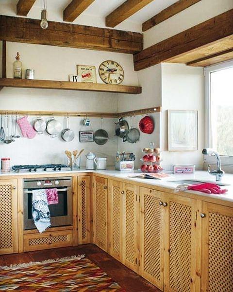 mutfak duvar askılıkları