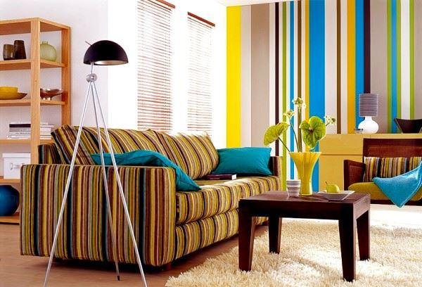 Duvar Kağıdı Desen Ve Renk Seçme Fikirleri 6