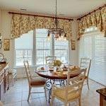 renkli desenli dekoratif perde tasarımları - renkli desenli mutfak perde modelleri 150x150 - Renkli Desenli Dekoratif Perde Tasarımları