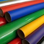 yapışkanlı duvar kağıt modelleri - renkli pvc yapiskanli duvar kagit 150x150 - Kendinden Yapışkanlı Duvar Kağıt Modelleri