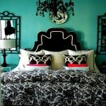 turkuaz-renkli-yatak-odasi