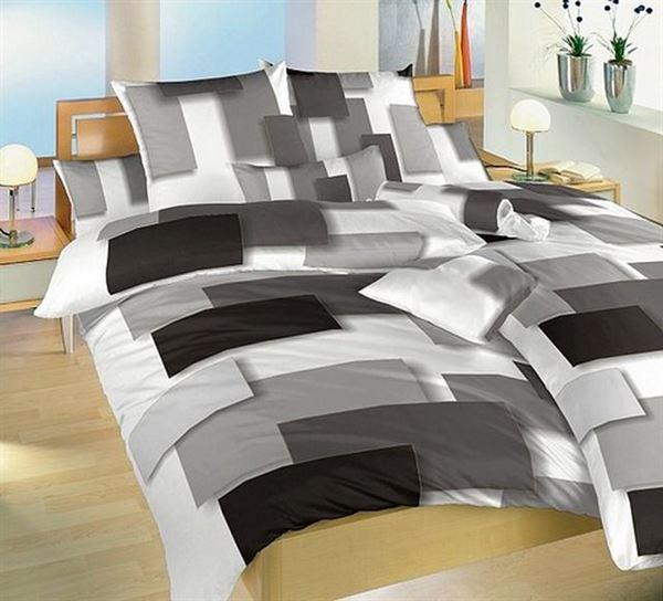 üç boyutlu resimli yatak örtüsü
