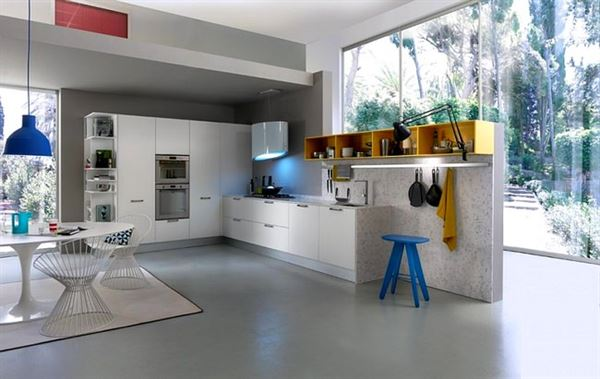 İtalyan Lüks Mutfak Tasarımları 34
