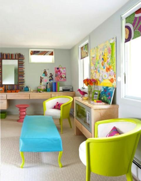 Canlı Renklerle Dekorasyona Dikkat Çekicilik Katmak 10