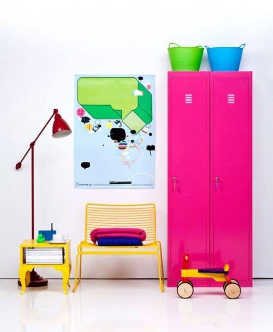 Canlı Renklerle Dekorasyona Dikkat Çekicilik Katmak