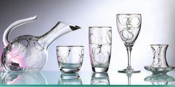 cam bardak içecek seti
