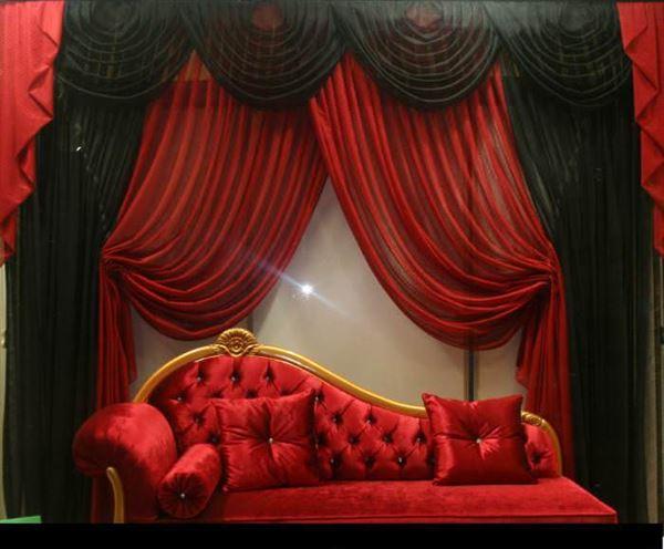 dekoratif perdeler kruvaze dökümlü dekoratif fransız perde modelleri - fransiz modeli tul perde