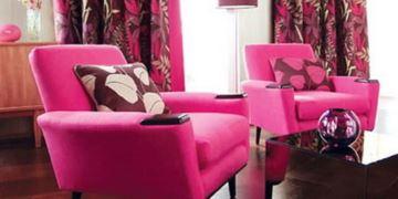 fusya-renk-koltuk