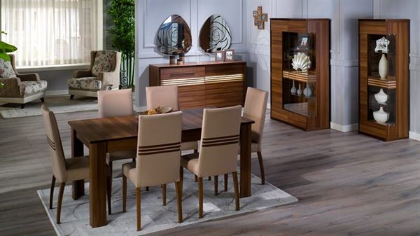 İstikbal mobilya carla yemek odası takımı