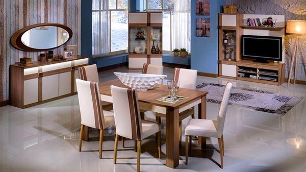 İstikbal mobilya vesta yemek odası takımı