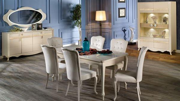 İstikbal mobilya sedef yemek odası takımı