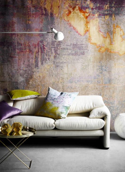 Sulu Boya Tekniği ile Duvar Boyama Örnekleri 4