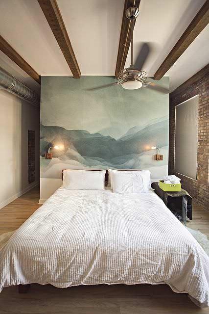 Sulu Boya Tekniği ile Duvar Boyama Örnekleri 11