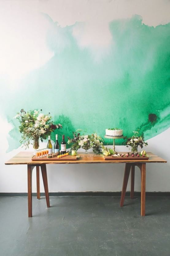 sulu boya tekniği ile duvar boyama Örnekleri - sulu boya teknigi ile duvar boyama 2