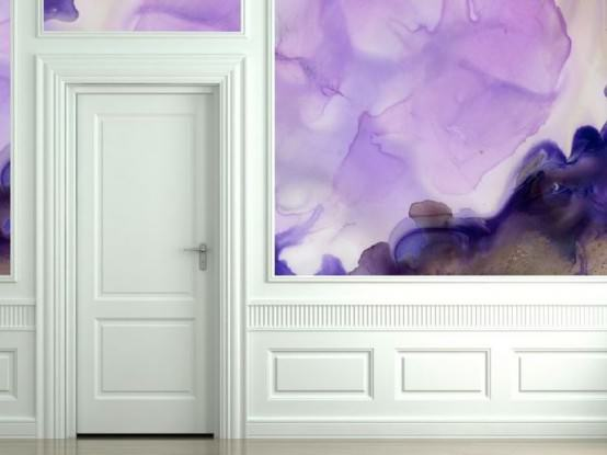 Sulu Boya Tekniği ile Duvar Boyama Örnekleri 15