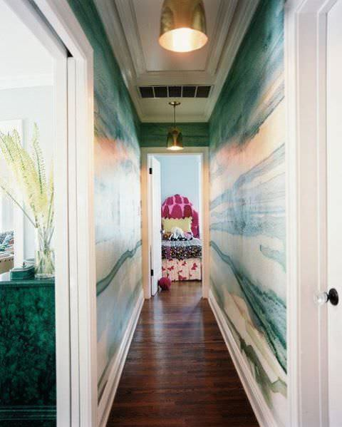 sulu boya tekniği ile duvar boyama Örnekleri - sulu boya teknigi ile duvar boyama 7