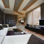 modern ultra lüks dekorasyonlu ev