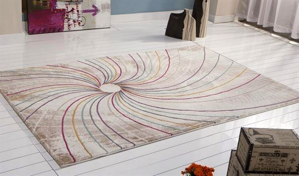 geometrik desenli halı bellona