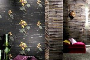 Dekoratif Modern Üç Boyutlu Duvar Kağıtları