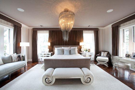contemporary-bedroom klasik avangard yatak odası