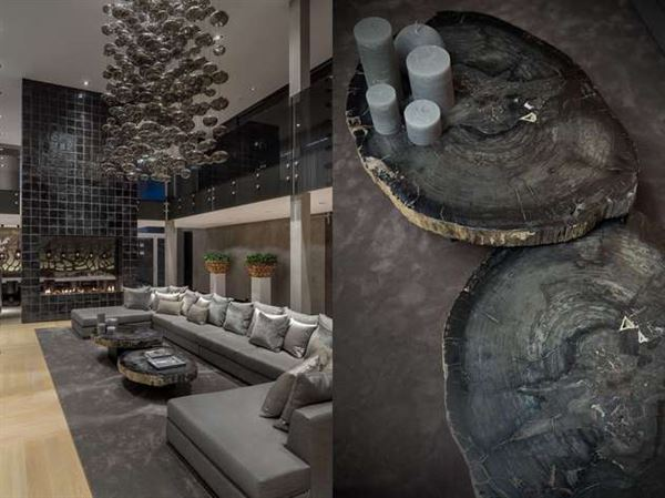 Zarif Detaylarla Tasarlanmış Villa Dekorasyonu 8