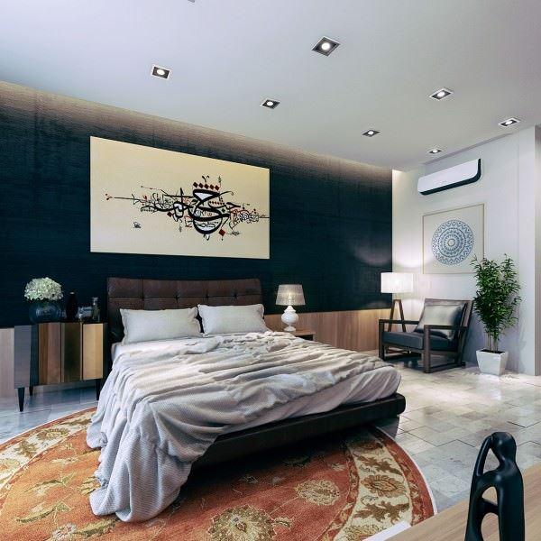 Modern Yatak Odası Dekorasyon Örnekleri 17