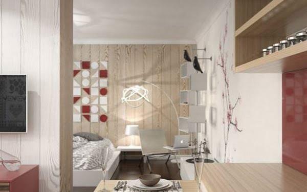 küçük daire dekorasyon
