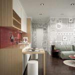 küçük daire banyo dekorasyon