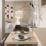 küçük daire modern dekorasyon