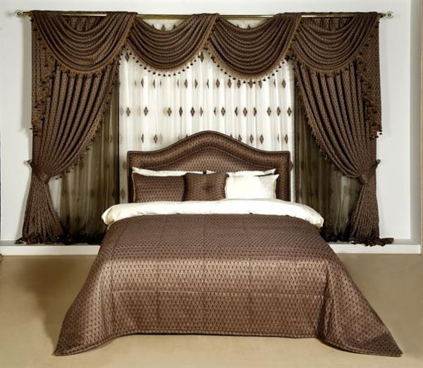 Yeni Tasarım Yatak Odası Perde Modelleri Ve Renkleri 14