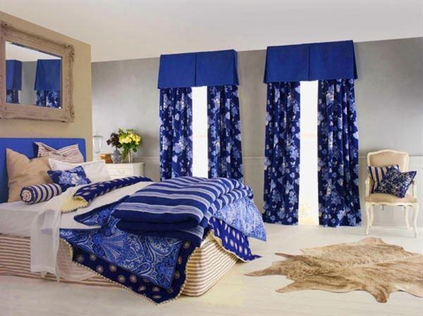 Yeni Tasarım Yatak Odası Perde Modelleri Ve Renkleri 6