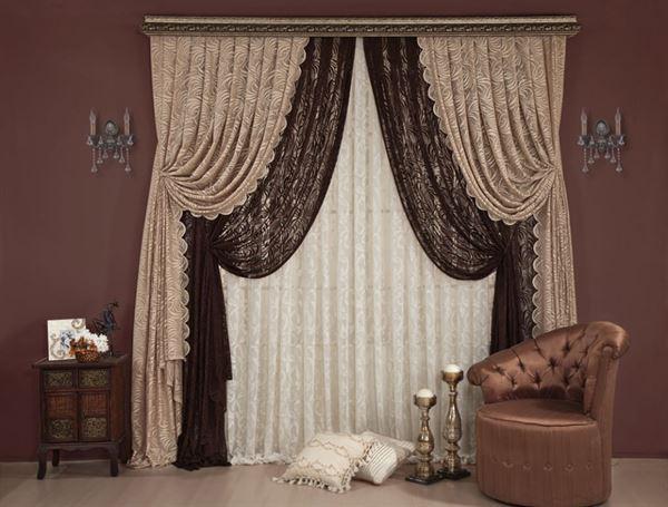 Yeni Tasarım Yatak Odası Perde Modelleri Ve Renkleri 7