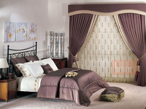 Yeni Tasarım Yatak Odası Perde Modelleri Ve Renkleri 8