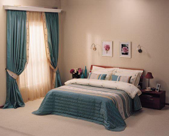 Yeni Tasarım Yatak Odası Perde Modelleri Ve Renkleri 9