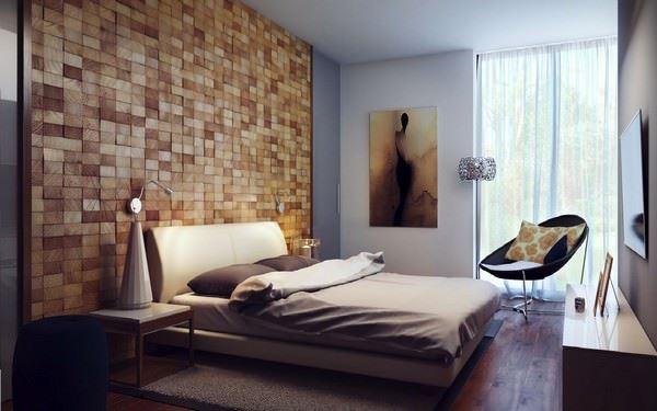 duvar süslemesi yatak odası
