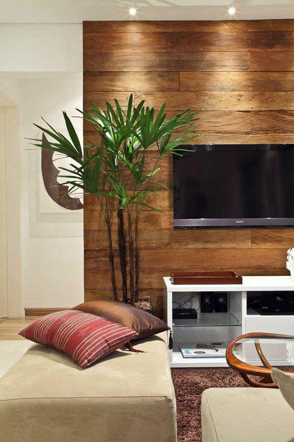 oturma odası tv arkası duvar süsleme