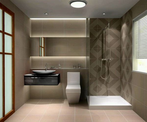 Yeni Tasarım Çizgileri Taşıyan Banyo Dekorasyonları 1