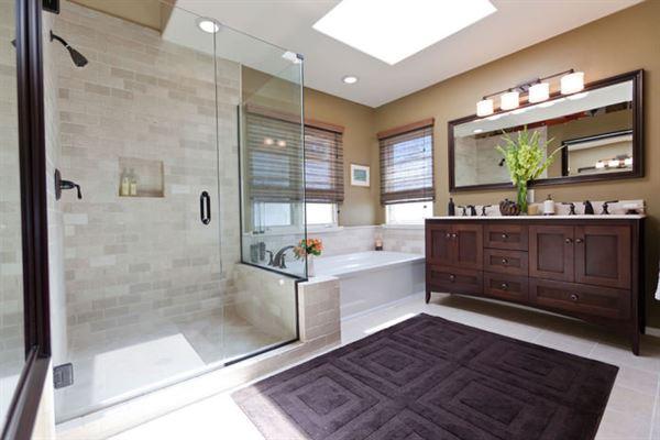 Yeni Tasarım Çizgileri Taşıyan Banyo Dekorasyonları 7
