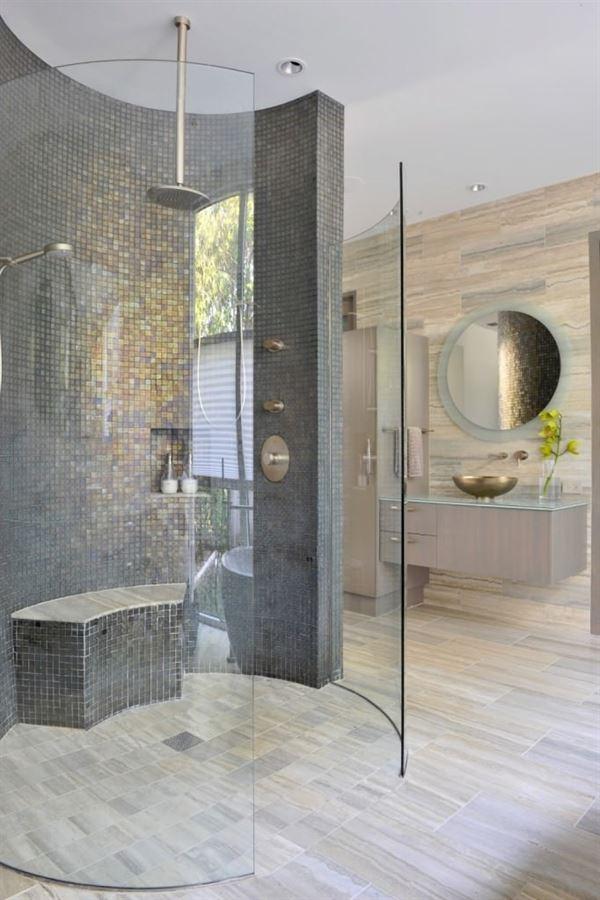 Yeni Tasarım Çizgileri Taşıyan Banyo Dekorasyonları 12