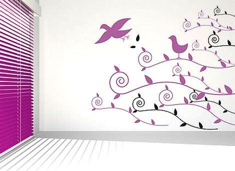 Duvarlarınıza Yapıştırmalı Desenler