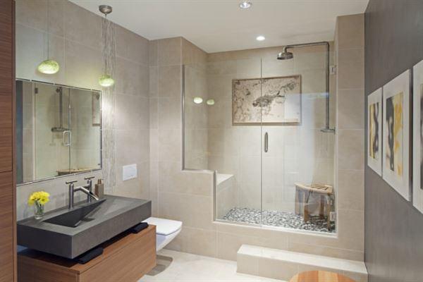 Yeni Tasarım Çizgileri Taşıyan Banyo Dekorasyonları 13